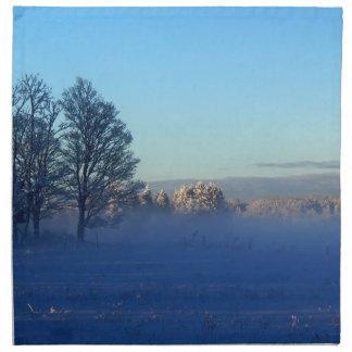 Winter Pastures St Joseph Island Napkin