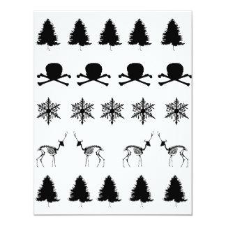 Winter Pattern Card