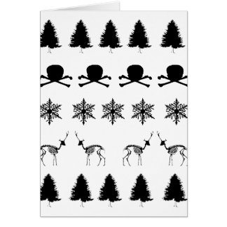 Winter Pattern Card