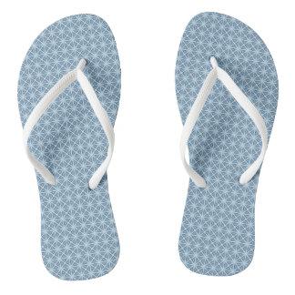 Winter Pattern Thongs