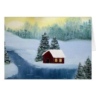 Winter Peace Blank Notecard