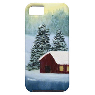 Winter Peace Frozen Ice Snow River Trees Landscape iPhone 5 Covers