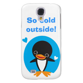 Winter Penguin Samsung Galaxy S4 Covers