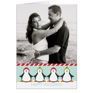 Winter Penguins Card