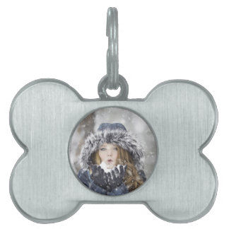 winter pet tag