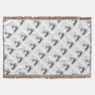Winter - Photography Jean Louis Glineur Throw Blanket