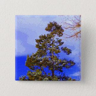 Winter Pine button