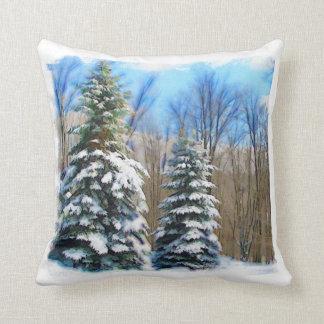 Winter Pines Pillow