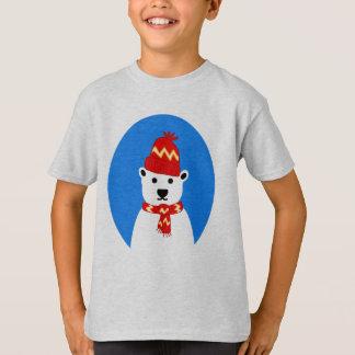 Winter Polar Bear - Tee Shirt for Kids