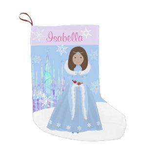Winter Princess With Dark Brown Hair