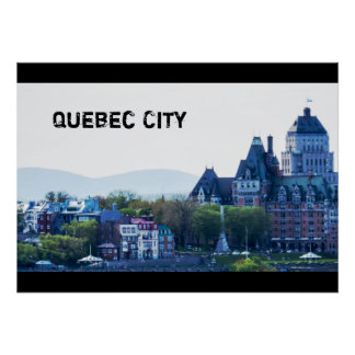 Winter | Quebec City Poster