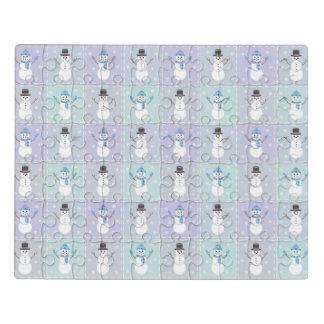Winter Quilt Acrylic Puzzle