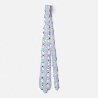 Winter Quilt Men's Neck Tie