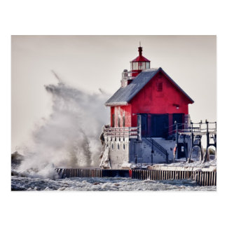 Winter  Rage Post Card