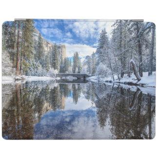 Winter Reflection at Yosemite iPad Cover