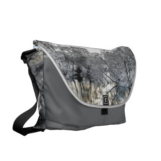 Winter Reflections Courier Bag