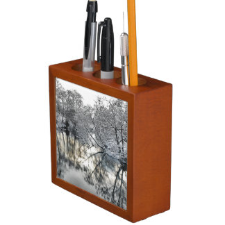 Winter Reflections Desk Organiser