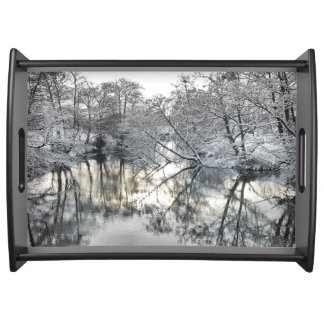 Winter Reflections Serving Tray