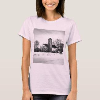 Winter Refuge Barn T-Shirt