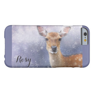 winter reindeer barely there iPhone 6 case