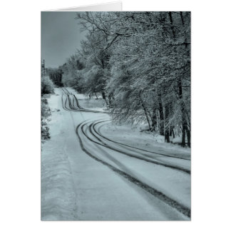 Winter Road Card