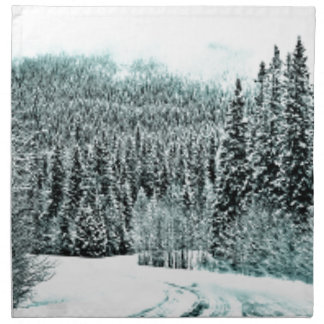 Winter Road Napkin