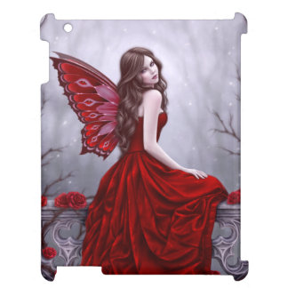 Winter Rose Butterfly Fairy iPad Case