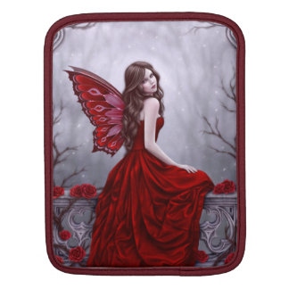 Winter Rose Butterfly Fairy iPad Sleeve