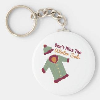 Winter Sale Keychains