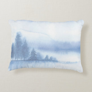 Winter Scene 2, double-sided print Decorative Cushion