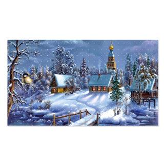 Winter Scene Business Card