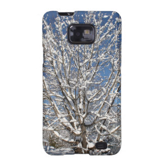 winter scene galaxy SII covers