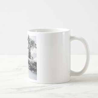 Winter Scene Cold Country Road Mug