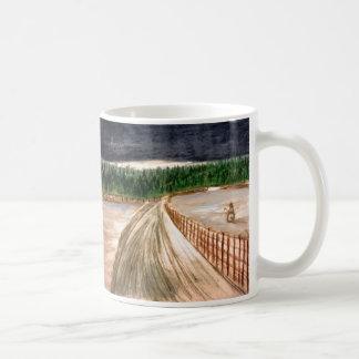 Winter Scene on Coffee/Tea Mug