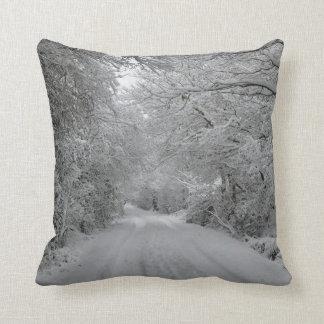 Winter Scene Pillow