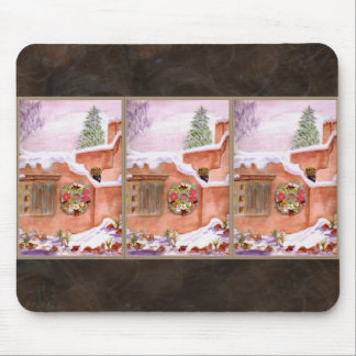 Winter Season Adobe Art Mousepad