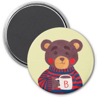 Winter Season is Coming (Bear Edition) Fridge Magnet