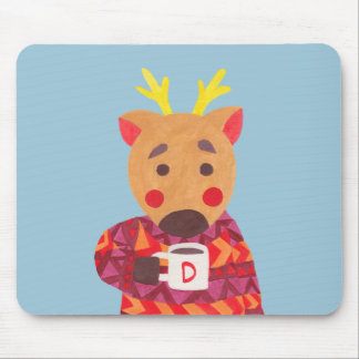 Winter Season is Coming (Deer Edition) Mouse Pad