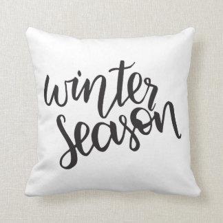 Winter Season   Pillow