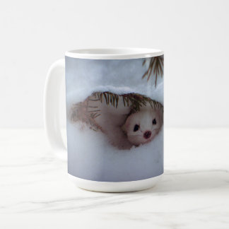 Winter - Short-Tailed Weasel Coffee Mug