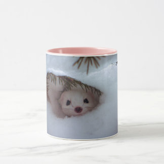 Winter - Short-Tailed Weasel Mug