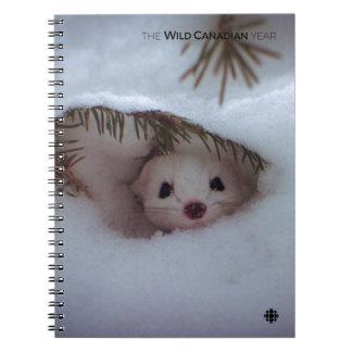 Winter - Short-Tailed Weasel Notebook
