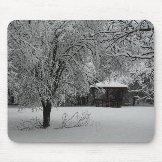 Winter Silence Mousepad