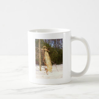 Winter Sled Coffee Mug