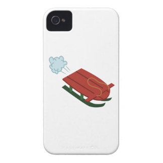 Winter Sled iPhone 4 Cover