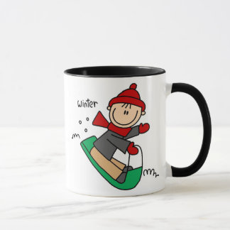 Winter Sledding Mug