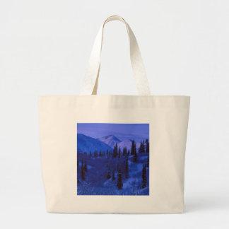 Winter Snow Covered N Range Tote Bag