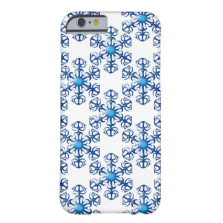 Winter Snow Flake Barely There iPhone 6 Case