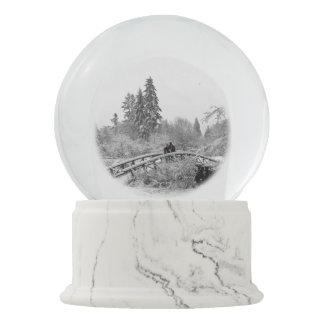 Winter Snow Globe Personalized Vancouver Snowglobe