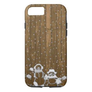 Winter Snow Snowman Peace Love Destiny iPhone 8/7 Case